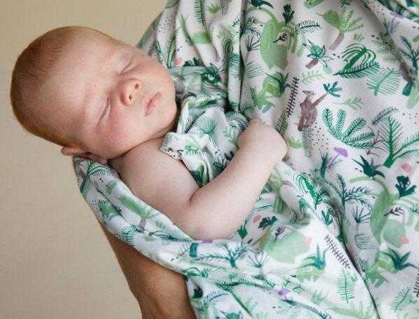 Halcyon Nights Australiana baby wrap
