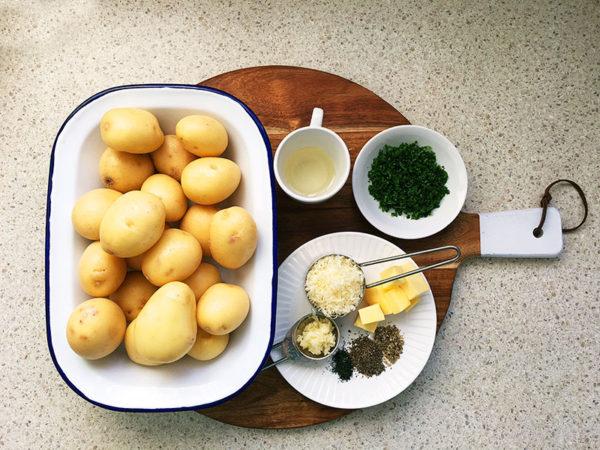 slow cooker cheesy potatoes ingredients