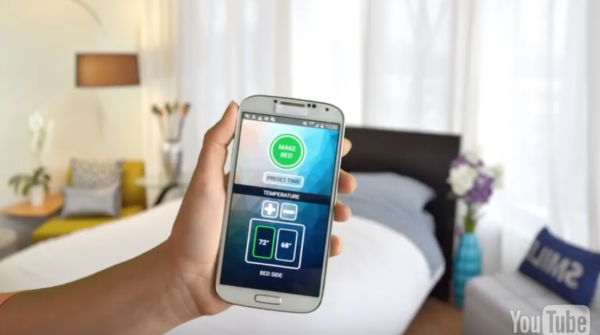 SmartDuvet app