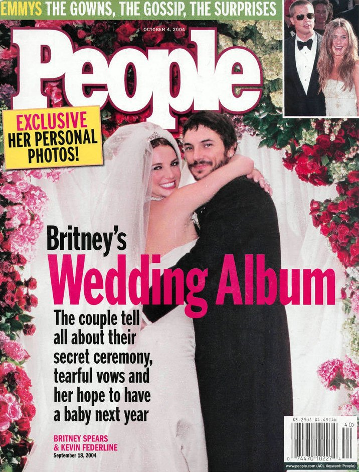 Britney and Kevin get married