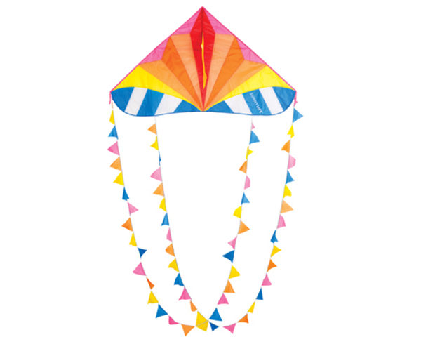 Bunting colourful kite