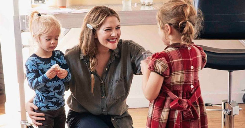 Drew Barrymore S Busy Mum Beauty Routine Is Actually Helpful