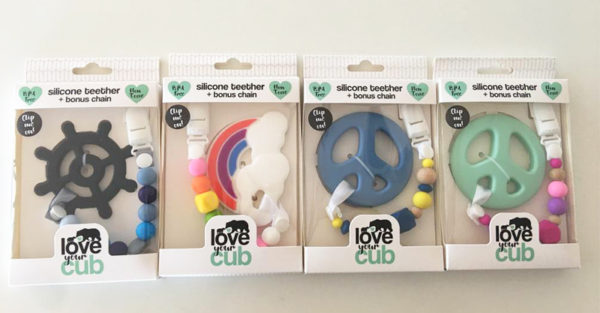 Love Your Cub recalled teethers