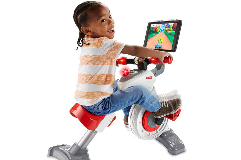 Kids exercise bike