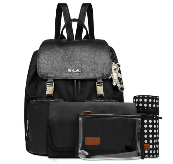 Il Tutto Nappy Bag  Black