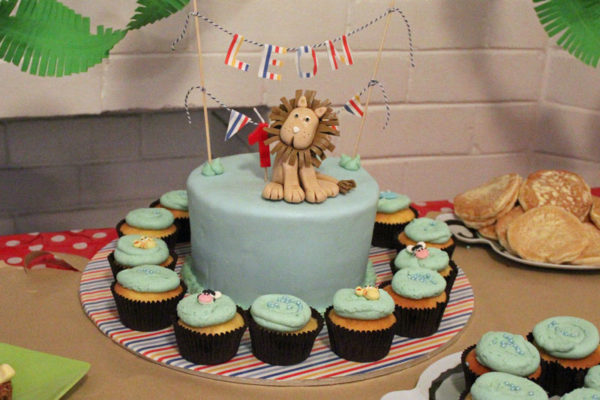 Leon the lion cake