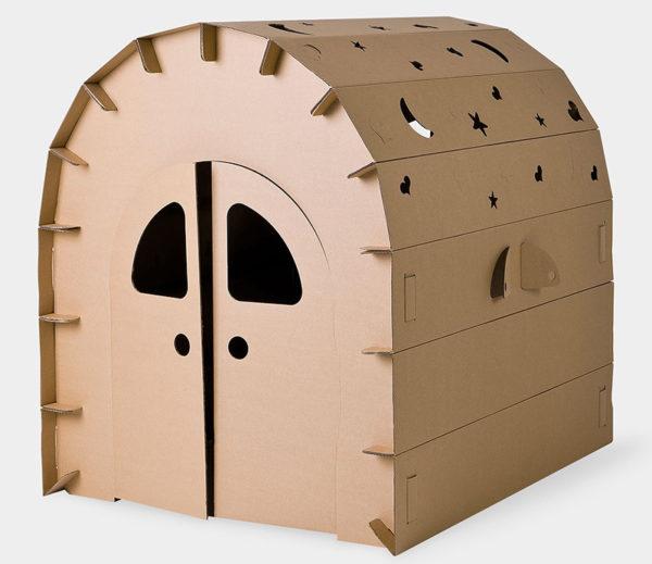 cardboard, cubby
