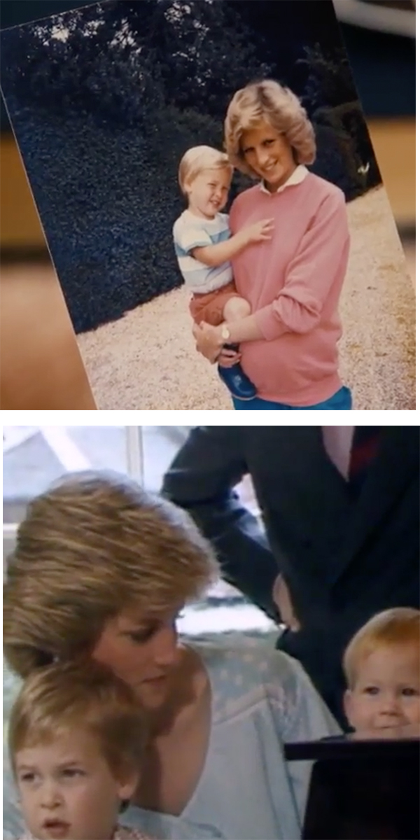 Diana and kids