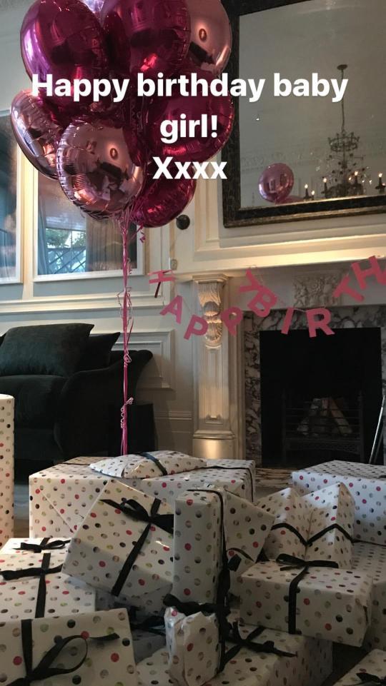 Harper Beckham Birthday