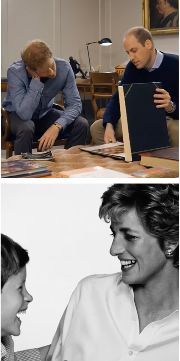 Wills, Diana and Harry