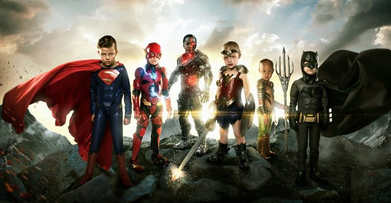 sick kids become justice league
