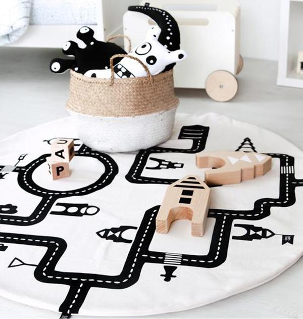 play mat, toys, nursery