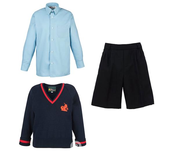 Prince George's Summer uniform