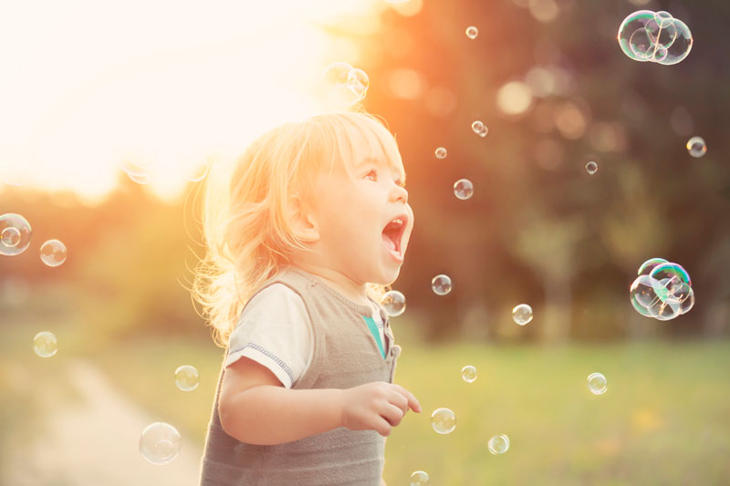 Toddler bubbles
