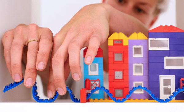 blocks, lego, hands