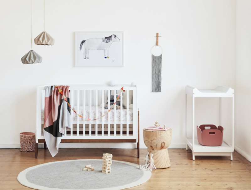 Bebe Care Agio Casa nursery furnishings range