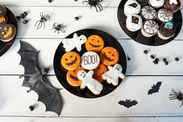 Halloween cookies and treats