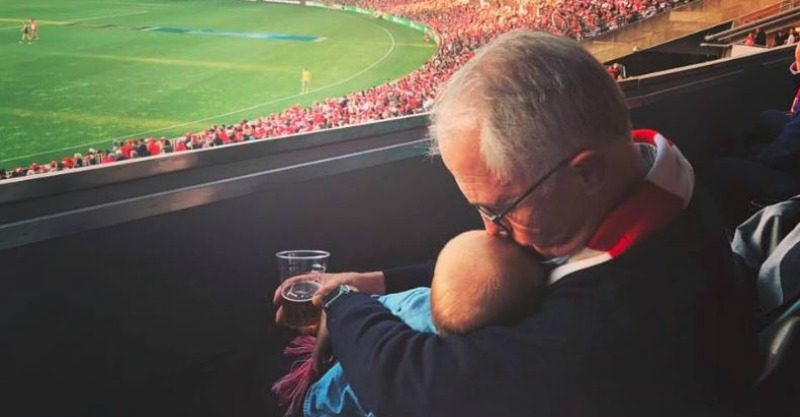 Malcolm Turnbull beer