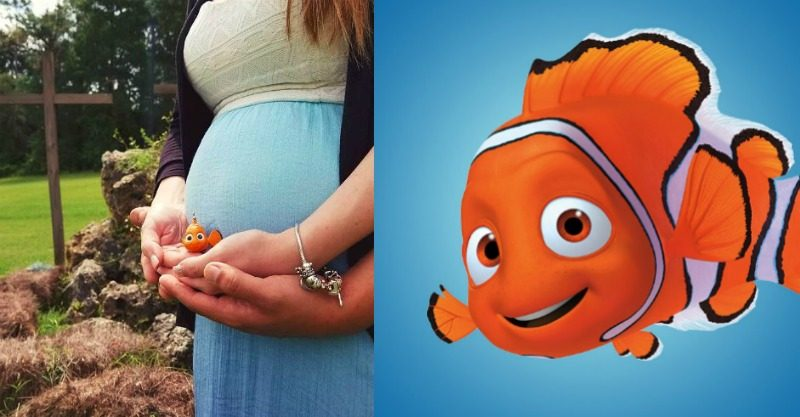 Nemo maternity photo