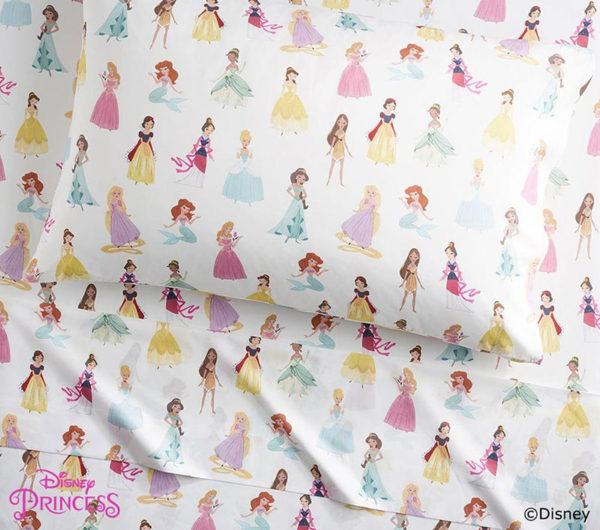 Disney, princess, sheets