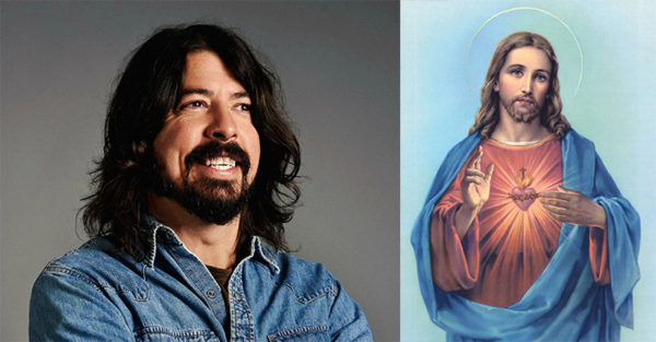 Jesus and Dave Grohl