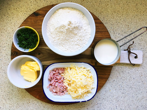 cheesy damper scones recipe