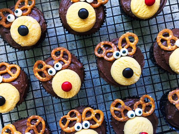 christmas reindeer cupcakes recipe