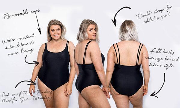 woman, swimwear