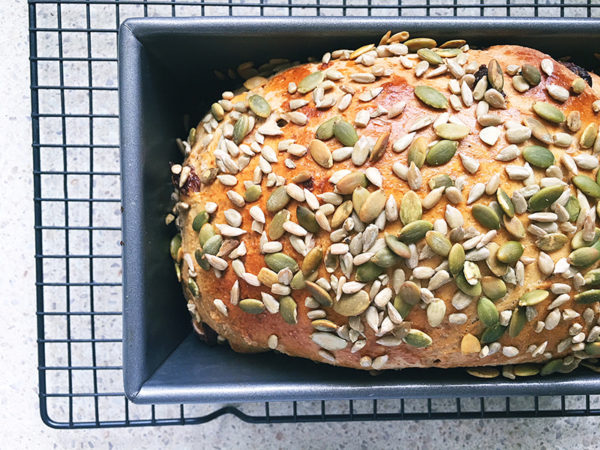 fruity raisin bread