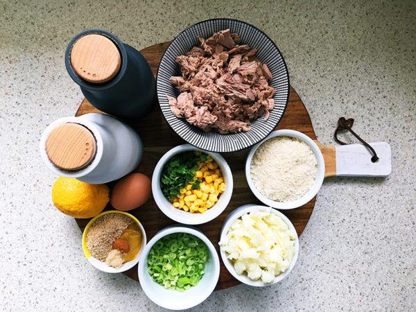 tuna patties fishcakes ingredients