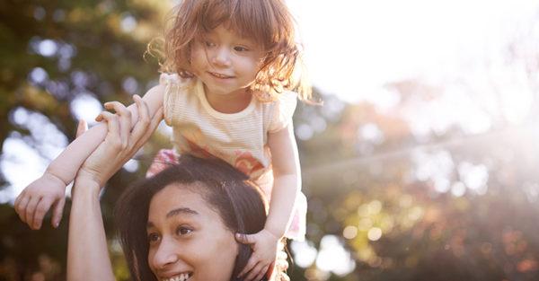 Mum with child