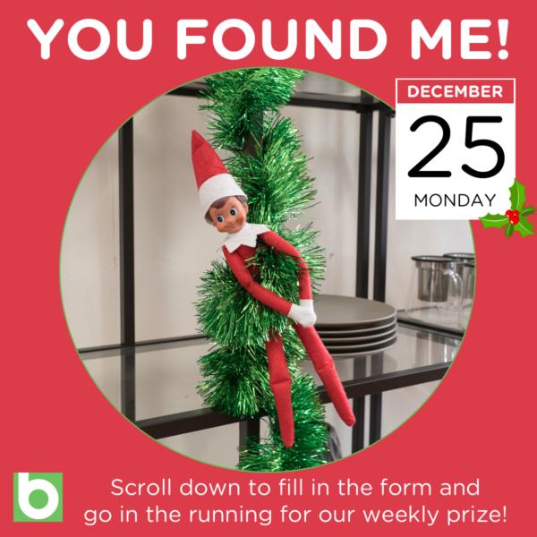 Elf on the Shelf 25 December