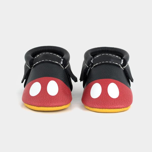 Mickey Style Moccasin