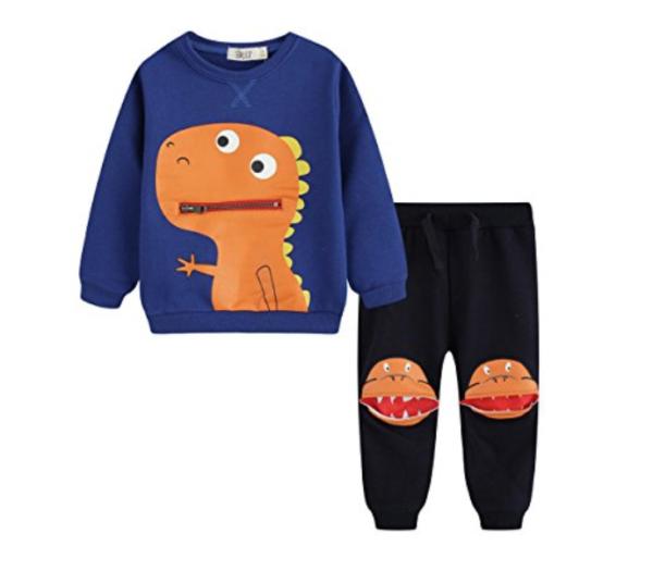 BQT dinosaur track suit