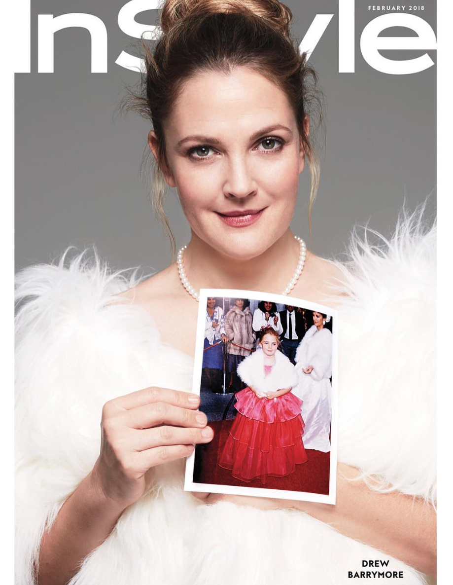 Drew Barrymore for Instyle Magazine