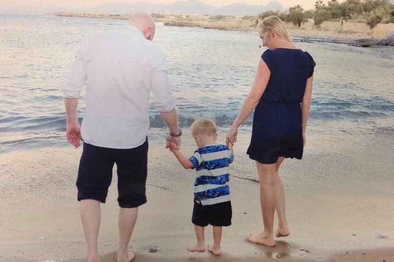 Gemma Chalmers family
