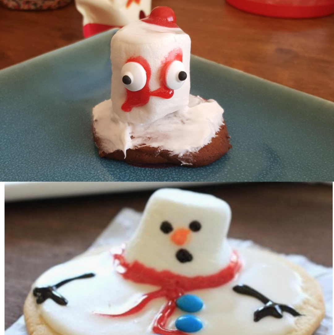 Melting Snowman fail