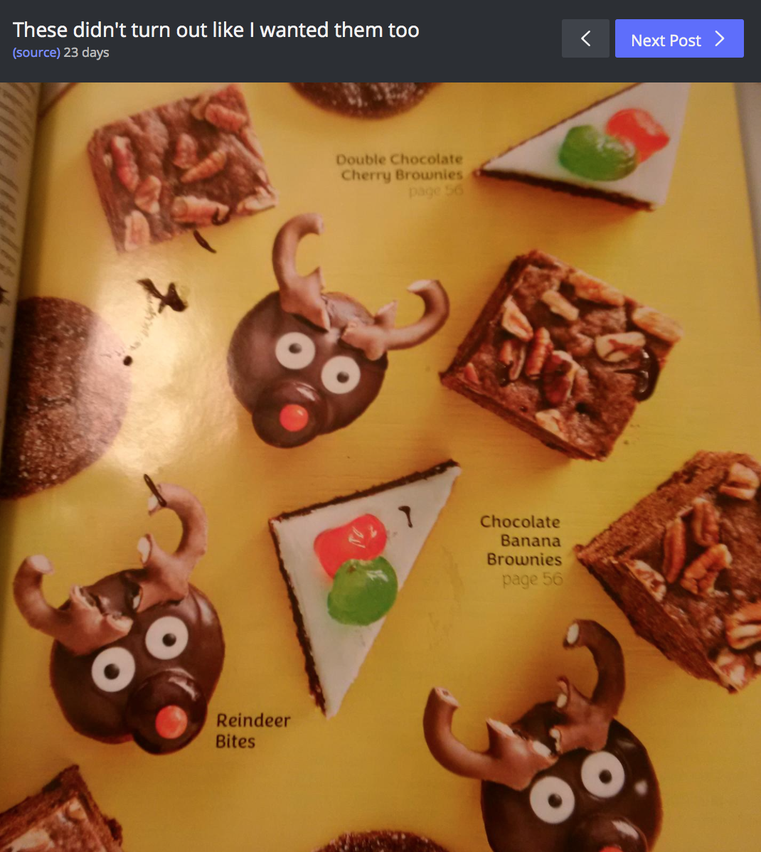 Chocolate Reindeer Fails