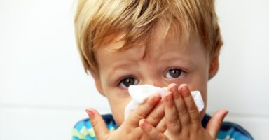 9 signs your child might have hay fever