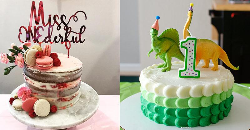 13 Beautiful First Birthday Cakes Thatll Make You Say Hip Hip Hooray