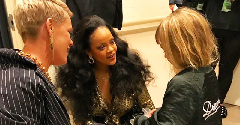 Pink, Rihanna and Willow