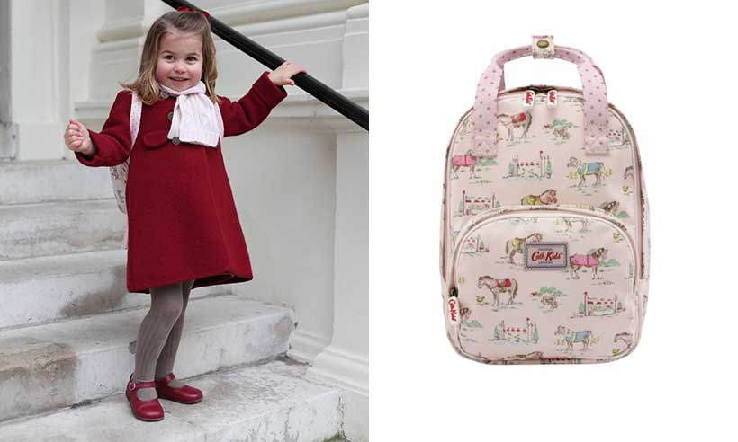 Princess Charlotte goes to school
