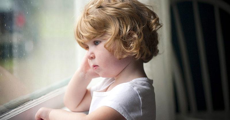 sad preschooler