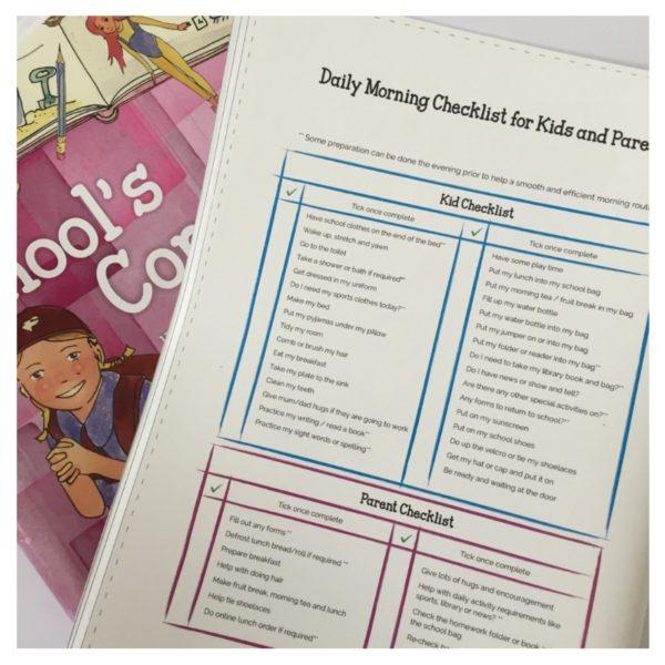 schools coming checklist
