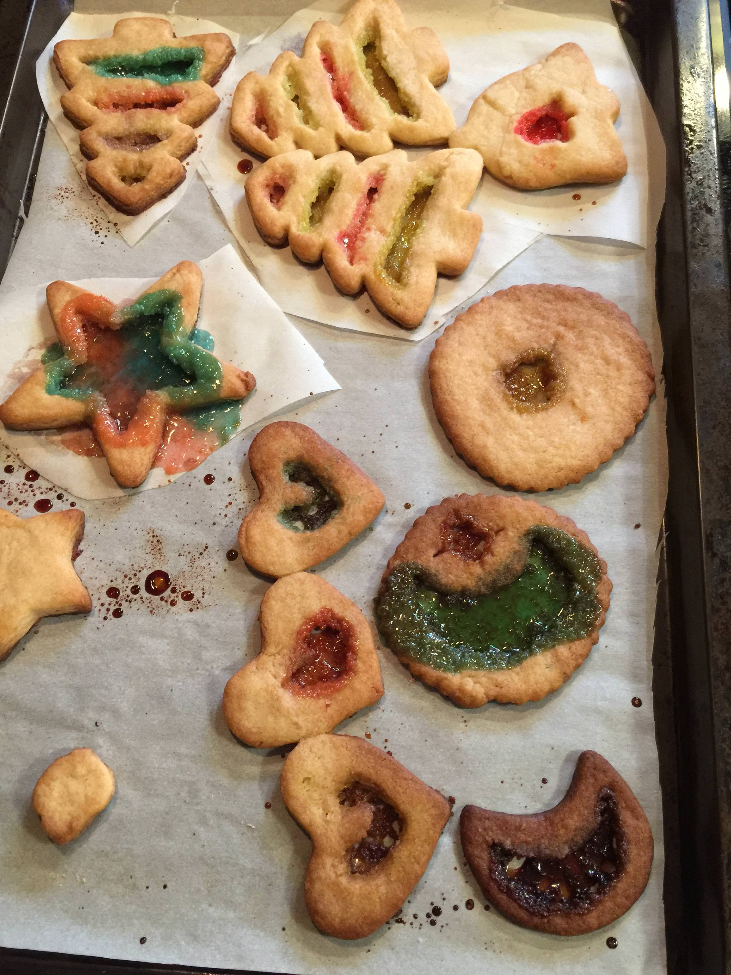 Stained Glass Cookie Fail