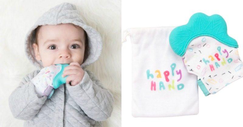 Becalm teething mitt for babies