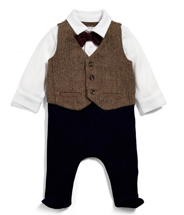 Mamas and Papas Peaky Blinder's baby wear