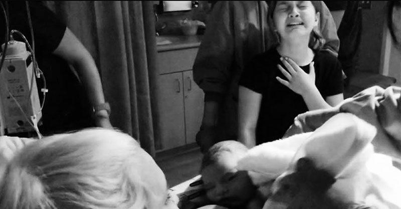 Kelsey and Brooke at birth