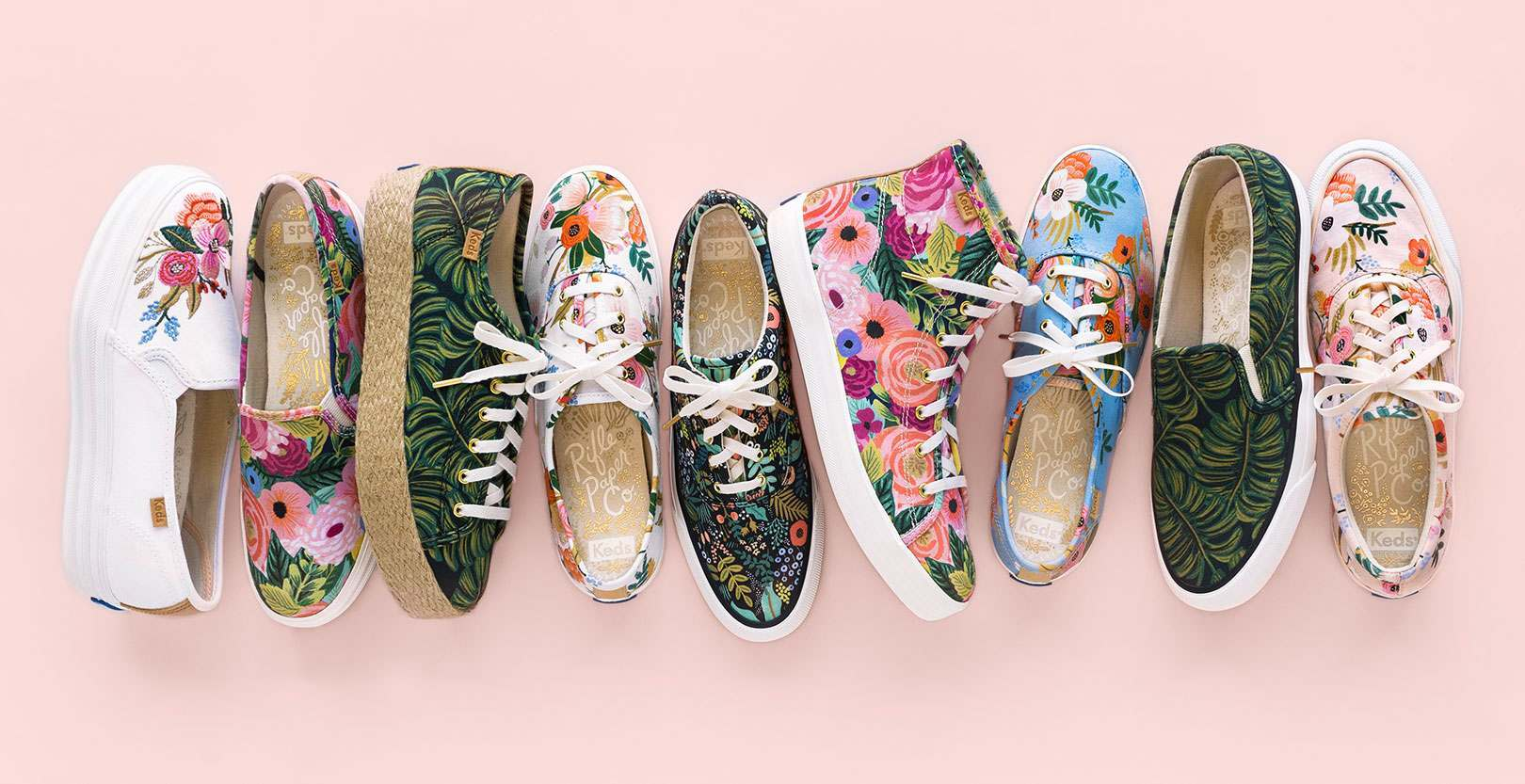 Rifle Paper Co x Keds Collection