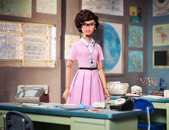 Katherine Johnson Barbie